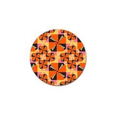 Windmill in rhombus shapes Golf Ball Marker (10 pack)