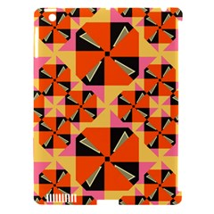 Windmill in rhombus shapes Apple iPad 3/4 Hardshell Case (Compatible with Smart Cover)