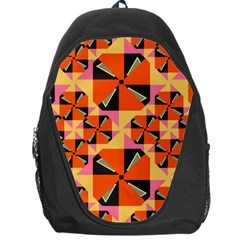 Windmill in rhombus shapes Backpack Bag
