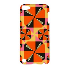 Windmill in rhombus shapes Apple iPod Touch 5 Hardshell Case