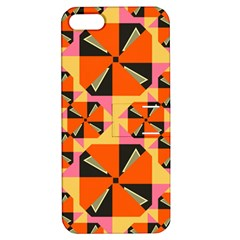 Windmill in rhombus shapes Apple iPhone 5 Hardshell Case with Stand