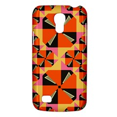 Windmill in rhombus shapes Samsung Galaxy S4 Mini (GT-I9190) Hardshell Case