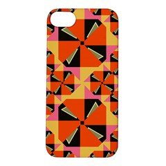 Windmill in rhombus shapes Apple iPhone 5S Hardshell Case