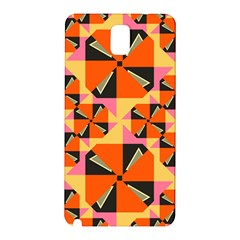 Windmill in rhombus shapes Samsung Galaxy Note 3 N9005 Hardshell Back Case