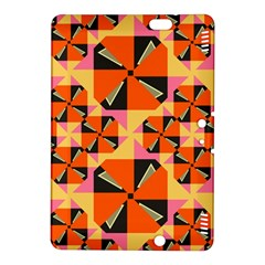Windmill in rhombus shapes Kindle Fire HDX 8.9  Hardshell Case
