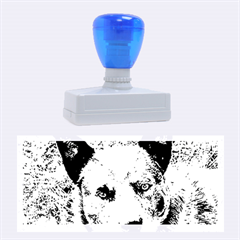 Australian Cattle Dog Blue Rubber Stamps (Large)