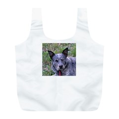 Australian Cattle Dog Blue Full Print Recycle Bags (L)