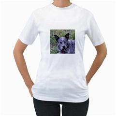 Australian Cattle Dog Blue Women s T-Shirt (White)