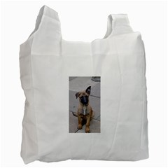 Malinois Puppy Sitting Recycle Bag (Two Side)