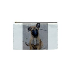 Malinois Puppy Sitting Cosmetic Bag (Small)