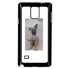 Malinois Puppy Sitting Samsung Galaxy Note 4 Case (Black)