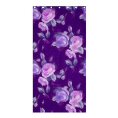 Vintage Roses Purple Shower Curtain 36  x 72  (Stall)