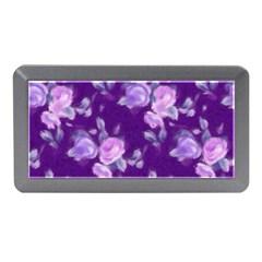Vintage Roses Purple Memory Card Reader (mini)