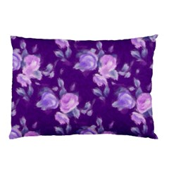 Vintage Roses Purple Pillow Cases (Two Sides)