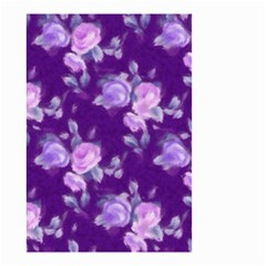 Vintage Roses Purple Small Garden Flag (two Sides)