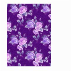 Vintage Roses Purple Large Garden Flag (two Sides)