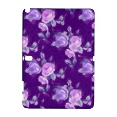 Vintage Roses Purple Samsung Galaxy Note 10.1 (P600) Hardshell Case