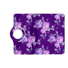 Vintage Roses Purple Kindle Fire HD (2013) Flip 360 Case