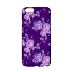 Vintage Roses Purple Apple iPhone 6/6S Hardshell Case