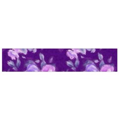 Vintage Roses Purple Flano Scarf (Small)