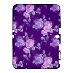 Vintage Roses Purple Samsung Galaxy Tab 4 (10.1 ) Hardshell Case