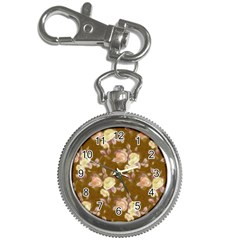 Vintage Roses Golden Key Chain Watches
