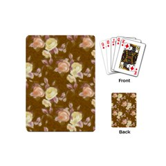 Vintage Roses Golden Playing Cards (Mini)