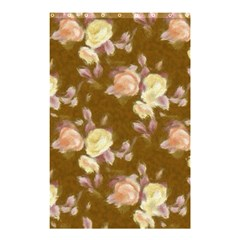 Vintage Roses Golden Shower Curtain 48  X 72  (small)