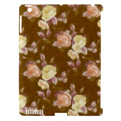 Vintage Roses Golden Apple iPad 3/4 Hardshell Case (Compatible with Smart Cover)