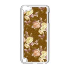 Vintage Roses Golden Apple iPod Touch 5 Case (White)