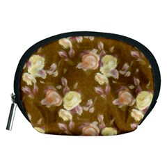 Vintage Roses Golden Accessory Pouches (Medium)