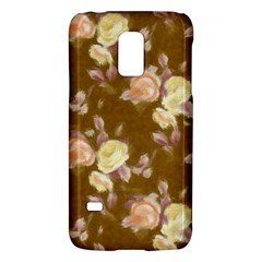 Vintage Roses Golden Galaxy S5 Mini