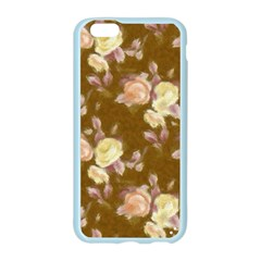 Vintage Roses Golden Apple Seamless iPhone 6/6S Case (Color)