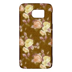 Vintage Roses Golden Galaxy S6