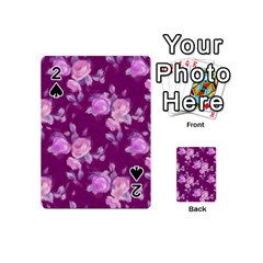 Vintage Roses Pink Playing Cards 54 (Mini)