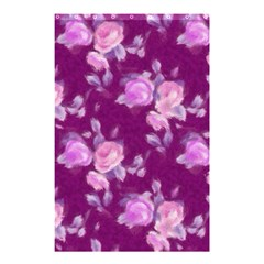 Vintage Roses Pink Shower Curtain 48  x 72  (Small)