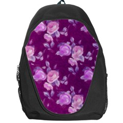 Vintage Roses Pink Backpack Bag