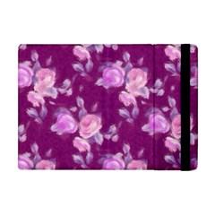 Vintage Roses Pink Apple iPad Mini Flip Case