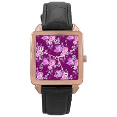 Vintage Roses Pink Rose Gold Watches