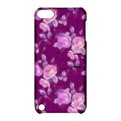 Vintage Roses Pink Apple iPod Touch 5 Hardshell Case with Stand