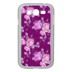 Vintage Roses Pink Samsung Galaxy Grand DUOS I9082 Case (White)