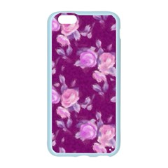 Vintage Roses Pink Apple Seamless iPhone 6/6S Case (Color)