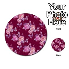 Vintage Roses Multi Purpose Cards (round)