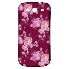 Vintage Roses Samsung Galaxy S3 S III Classic Hardshell Back Case