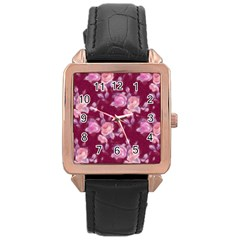 Vintage Roses Rose Gold Watches