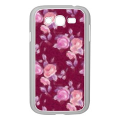 Vintage Roses Samsung Galaxy Grand DUOS I9082 Case (White)