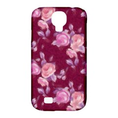 Vintage Roses Samsung Galaxy S4 Classic Hardshell Case (PC+Silicone)