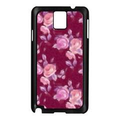 Vintage Roses Samsung Galaxy Note 3 N9005 Case (Black)