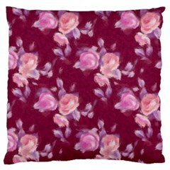 Vintage Roses Standard Flano Cushion Cases (Two Sides)