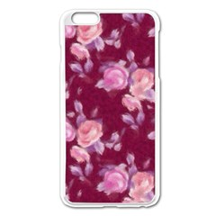 Vintage Roses Apple iPhone 6 Plus/6S Plus Enamel White Case